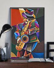 Saxophone Art Man  11x17 Poster lifestyle-poster-2