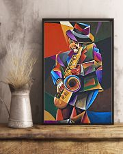 Saxophone Art Man  11x17 Poster lifestyle-poster-3