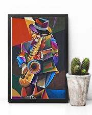 Saxophone Art Man  11x17 Poster lifestyle-poster-8