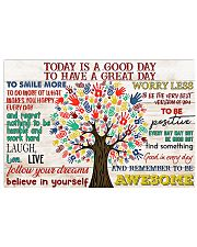 Social Worker Today Is A Good Day 17x11 Poster front