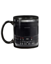 Photographer Red And White Numbers Mug back