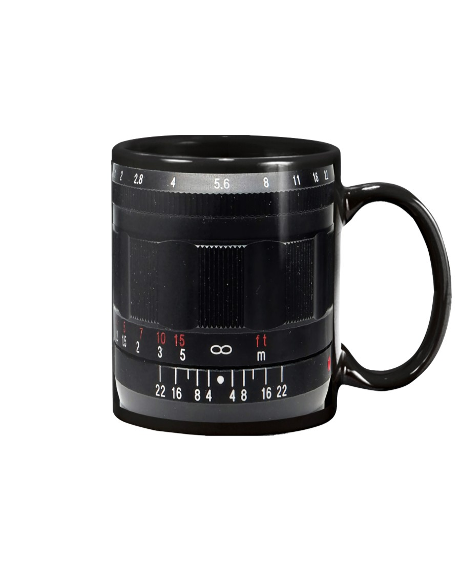 Photographer Red And White Numbers Mug