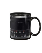 Photographer Red And White Numbers Mug front