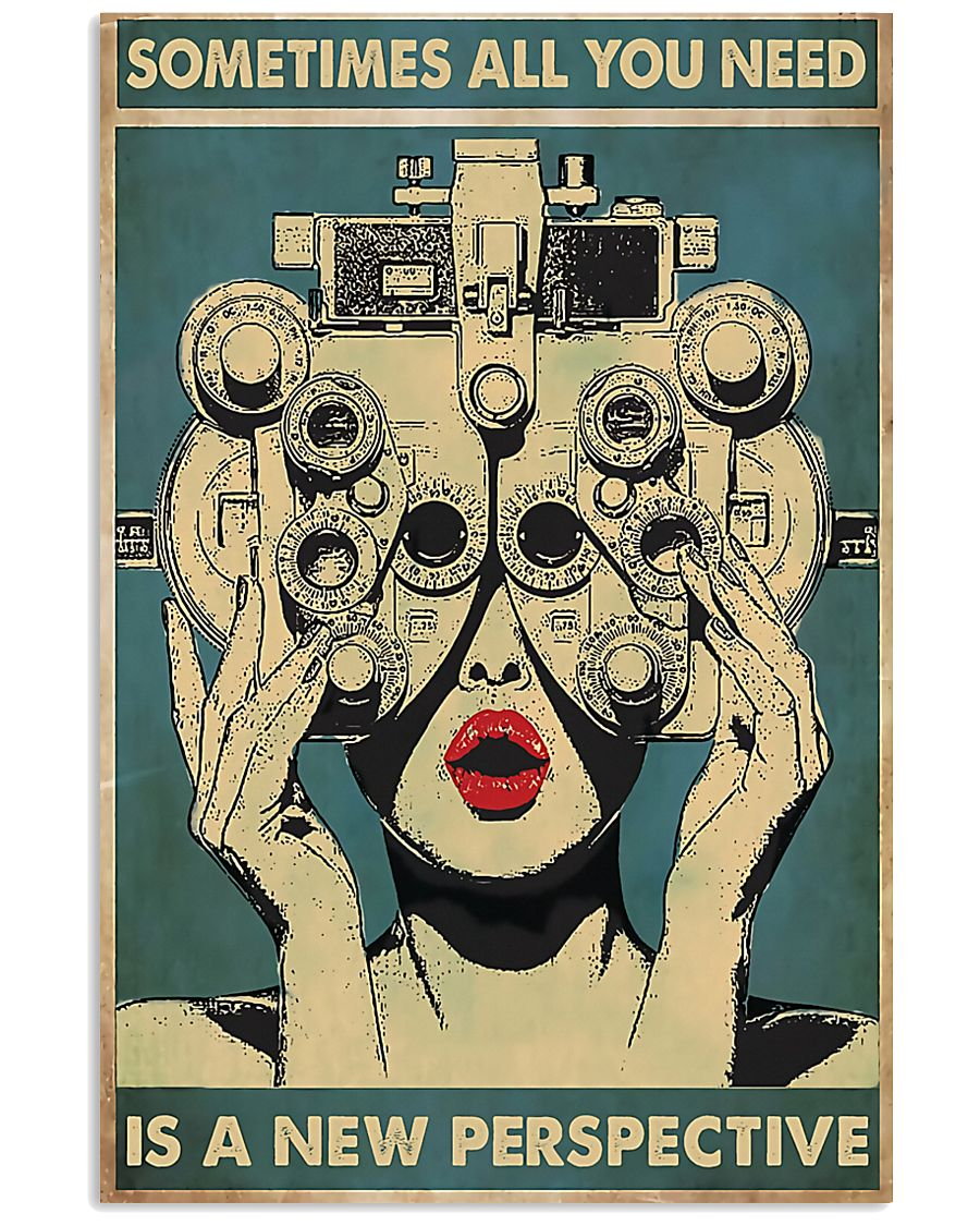 New Perspective Optometrist 11x17 Poster
