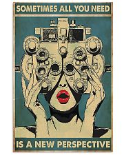 New Perspective Optometrist 11x17 Poster front