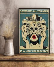 New Perspective Optometrist 11x17 Poster lifestyle-poster-3