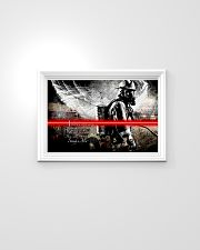 Firefighter I Heard A Voice Saying 24x16 Poster poster-landscape-24x16-lifestyle-02