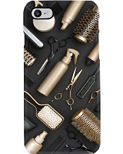 Hairdresser Metal Tools Phone Case i-phone-8-case