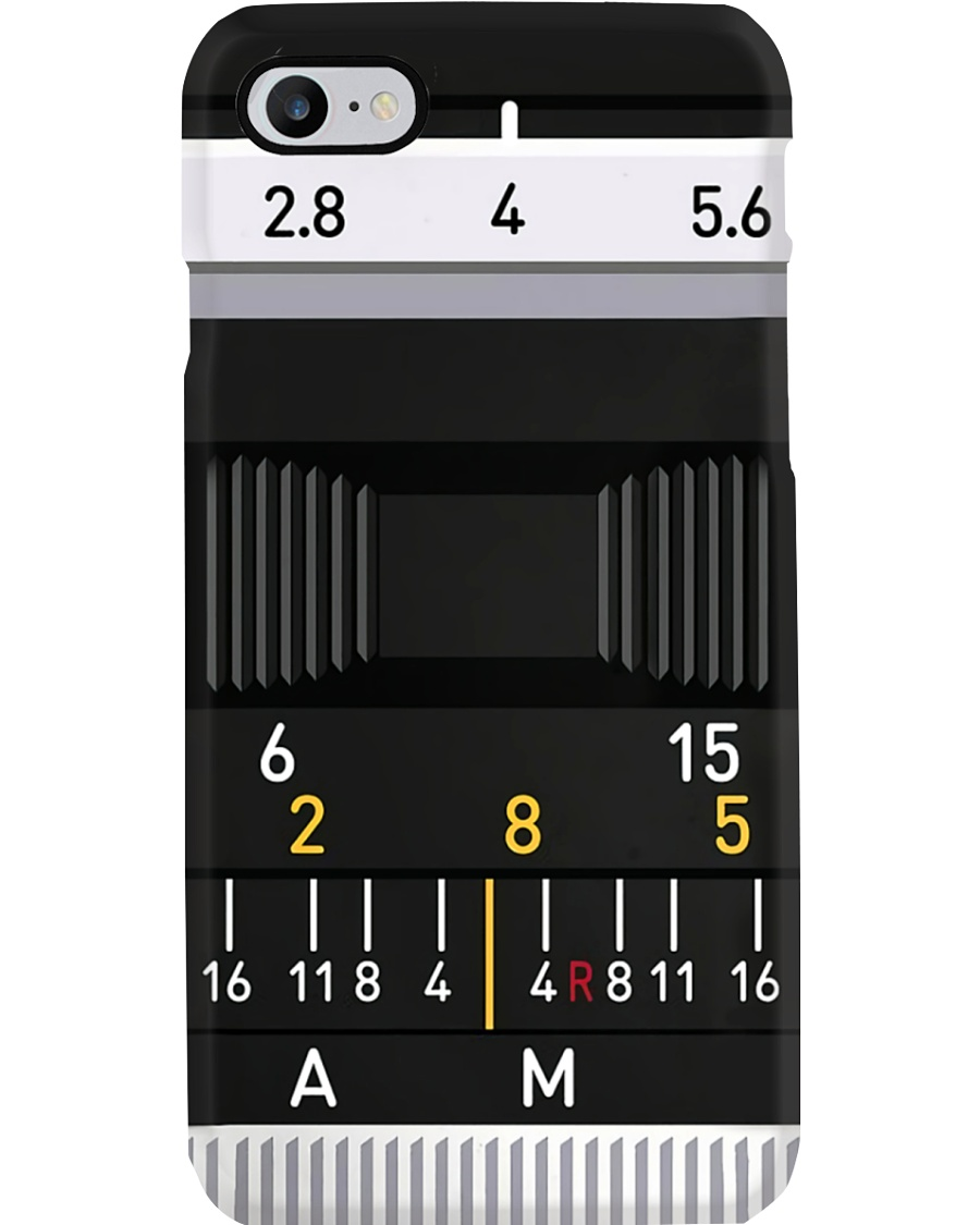 Camera Lens Details Photographer Phone Case