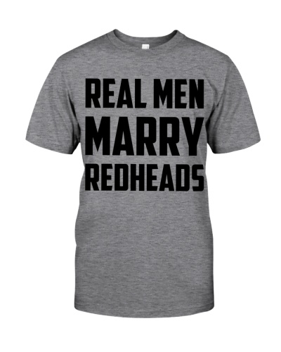 Real Men Marry Redheads