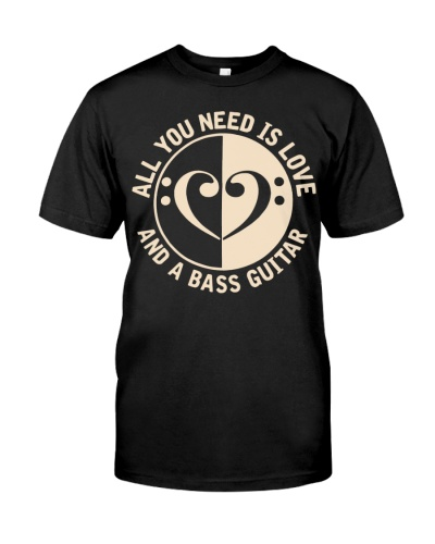 All You Need Love Bass Guitar