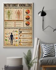 Nutritionist Knowledge 11x17 Poster lifestyle-poster-1