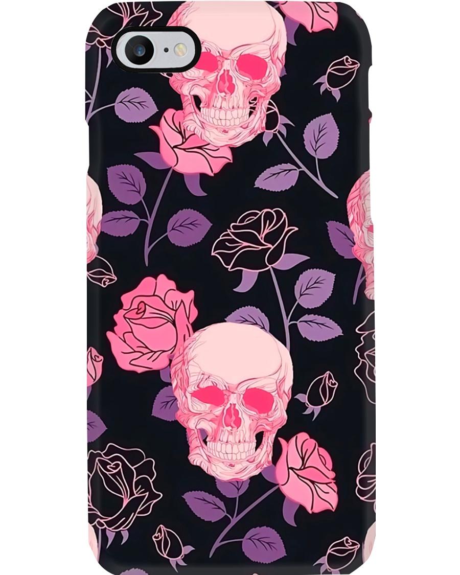 Rose Skull Radiology Phone Case