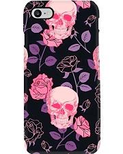 Rose Skull Radiology Phone Case i-phone-7-case