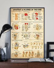 Physical Therapy Anatomy And Injuries Of The Knee 11x17 Poster lifestyle-poster-2
