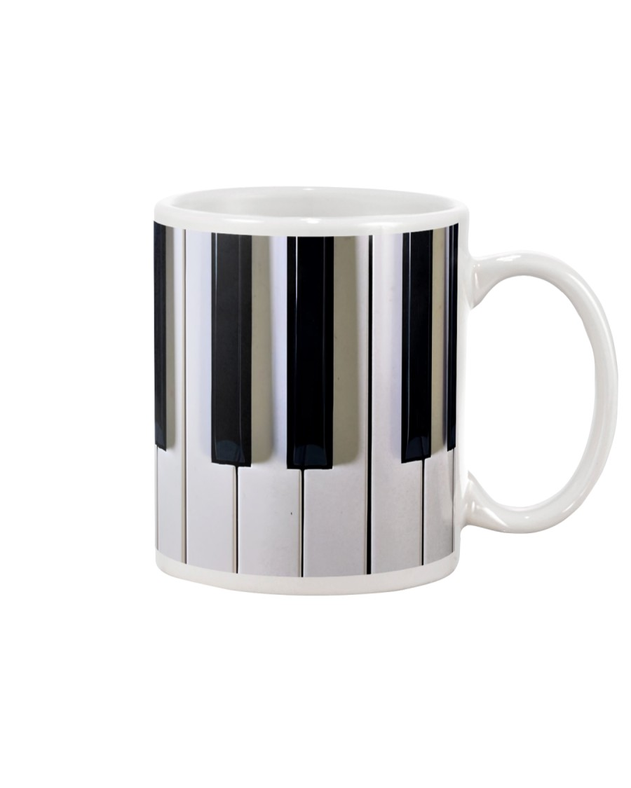 Piano Keyboard Pianist Gift Mug