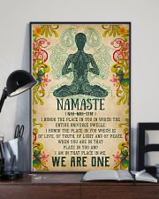 Yoga - We are one 11x17 Poster lifestyle-poster-2