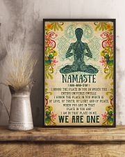 Yoga - We are one 11x17 Poster lifestyle-poster-3