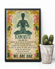 Yoga - We are one 11x17 Poster lifestyle-poster-8