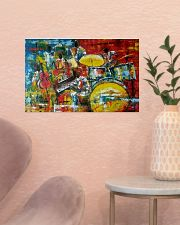 Drummer Painting 17x11 Poster poster-landscape-17x11-lifestyle-22