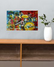 Drummer Painting 17x11 Poster poster-landscape-17x11-lifestyle-24