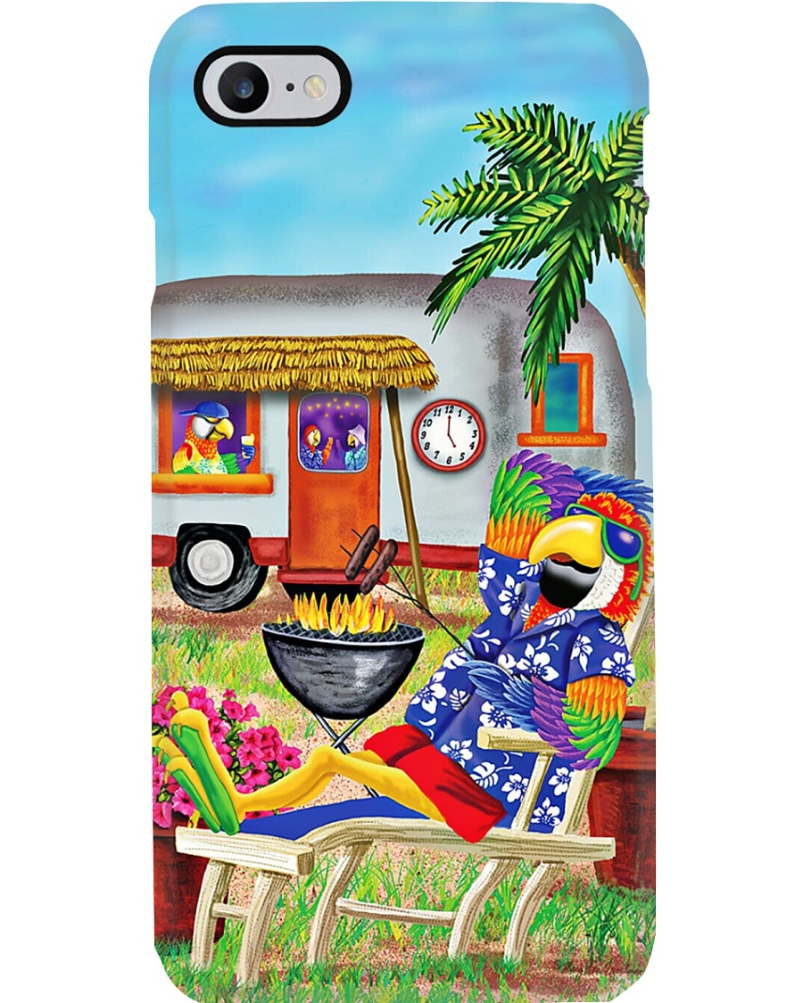 Parrot Camping Phone Case