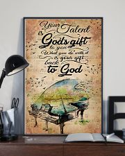 Piano Your Talent Is God's Gift 11x17 Poster lifestyle-poster-2
