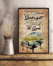 Piano Your Talent Is God's Gift 11x17 Poster lifestyle-poster-3