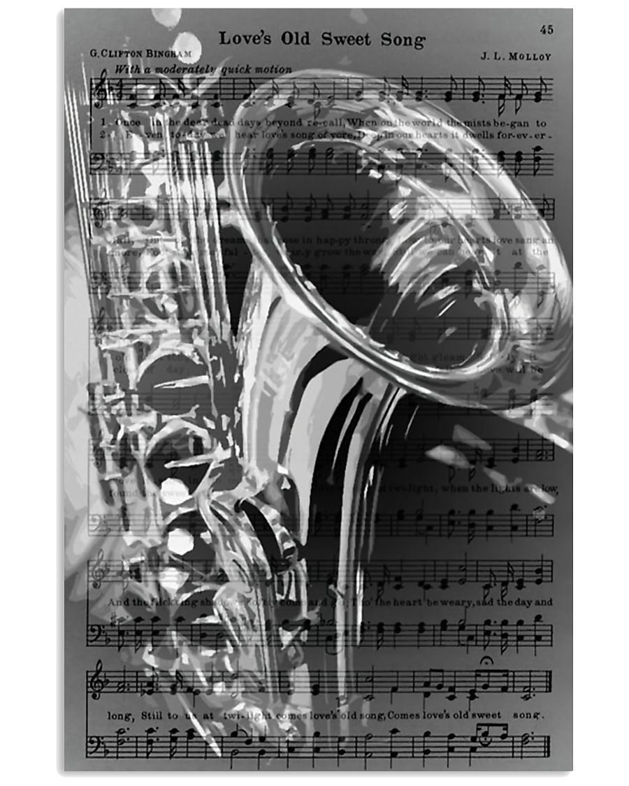 Saxophone - Love's Old Sweet Song 11x17 Poster