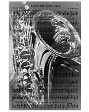 Saxophone - Love's Old Sweet Song 11x17 Poster front