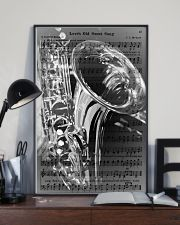 Saxophone - Love's Old Sweet Song 11x17 Poster lifestyle-poster-2