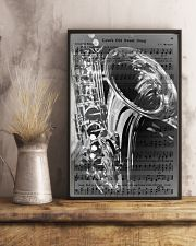 Saxophone - Love's Old Sweet Song 11x17 Poster lifestyle-poster-3