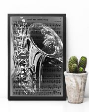 Saxophone - Love's Old Sweet Song 11x17 Poster lifestyle-poster-8