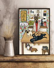 Veterinarian It's All Fun 11x17 Poster lifestyle-poster-3