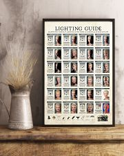 Photographer Lighting Guide 11x17 Poster lifestyle-poster-3