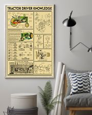 Farmer Tractor Driver Knowledge 11x17 Poster lifestyle-poster-1