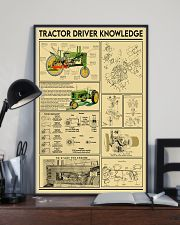 Farmer Tractor Driver Knowledge 11x17 Poster lifestyle-poster-2