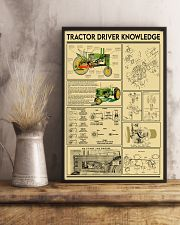 Farmer Tractor Driver Knowledge 11x17 Poster lifestyle-poster-3