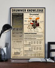Drummer Knowledge 11x17 Poster lifestyle-poster-2
