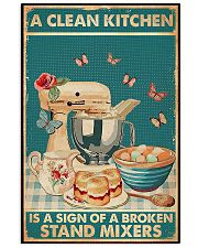 Baking A Clean Kitchen 11x17 Poster front