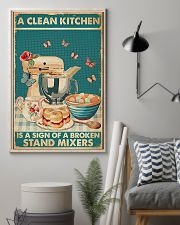 Baking A Clean Kitchen 11x17 Poster lifestyle-poster-1