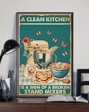 Baking A Clean Kitchen 11x17 Poster lifestyle-poster-2