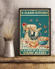 Baking A Clean Kitchen 11x17 Poster lifestyle-poster-3