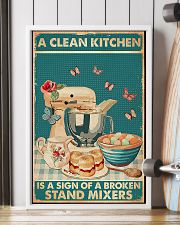 Baking A Clean Kitchen 11x17 Poster lifestyle-poster-4