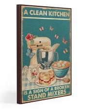 Baking A Clean Kitchen 20x30 Gallery Wrapped Canvas Prints thumbnail