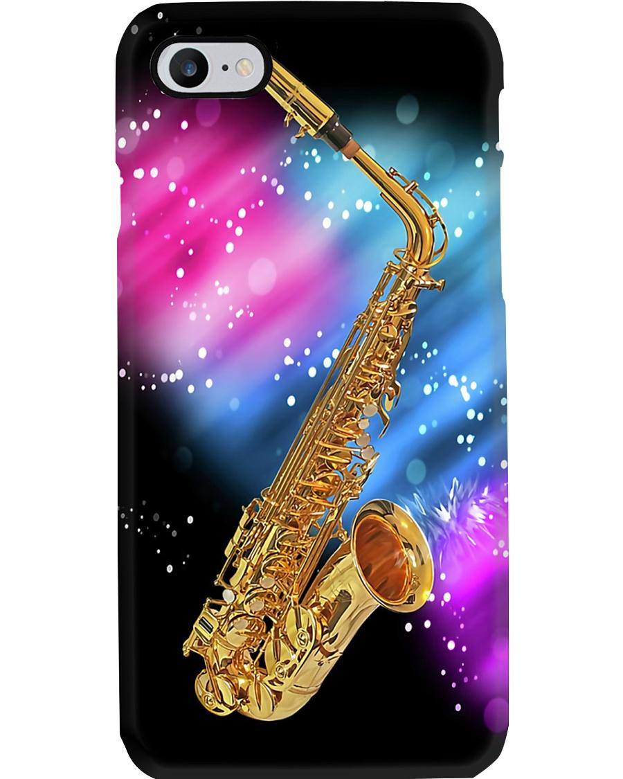 Saxophone on sparkle colors Phone Case