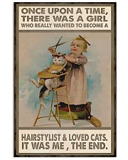 Hairdresser A Girl Wanted To Become A Hairstylist  11x17 Poster front
