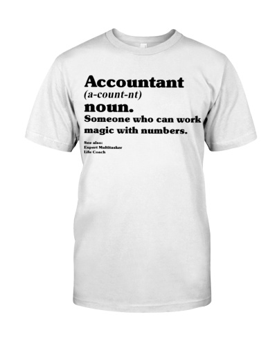 Accountant who can work magic with numbers