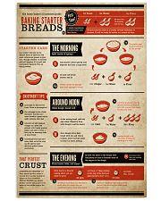 Baking Starter Breads 11x17 Poster front