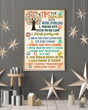 Social Worker Tips For Dealing With Work Overload 11x17 Poster lifestyle-holiday-poster-1